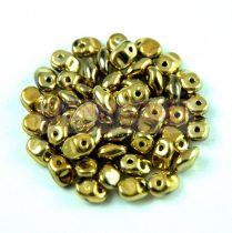 SuperUno gyöngy 2.5x5mm - full amber