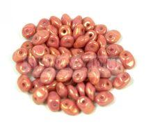SuperUno gyöngy 2.5x5mm - telt rózsa-bronz lüszter