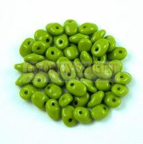 SuperUno gyöngy 2.5x5mm - telt zöld