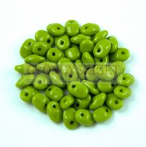 SuperUno gyöngy - 2.5x5mm - Opaque Green