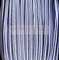 Olasz sujtás zsinór - 3mm - Raisin