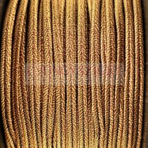 Olasz sujtás zsinór - 3mm - Metallic Roman Gold