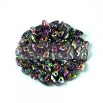 Super8® cseh kétlyukú gyöngy - 2.2x4.7mm - Crystal Magic Purple