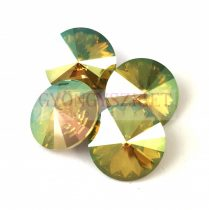 Swarovski rivoli 12mm - Crystal Verde