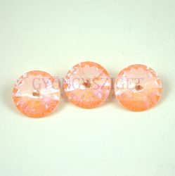 Swarovski rivoli 12mm - Crystal Peach DeLite