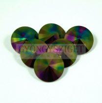 Swarovski rivoli 12mm - rainbow dark