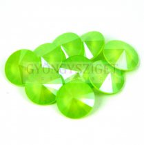 Swarovski rivoli 14mm - Crystal Lime