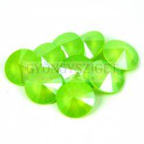 Swarovski rivoli 14mm - Crystal Lime
