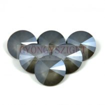 Swarovski rivoli 14mm - Dark Grey