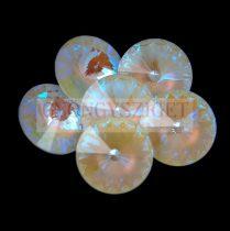 Swarovski rivoli 14mm - Crystal Light Grey DeLite