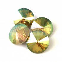 Swarovski rivoli 18mm - Crystal Verde