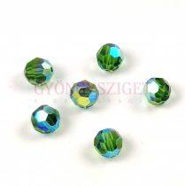 Swarovski MC round bead 6mm - Fern Green AB