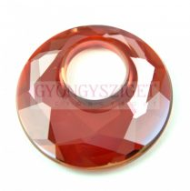 Swarovski - 6041 - 38mm - Victory Medál - Crystal Red Magma