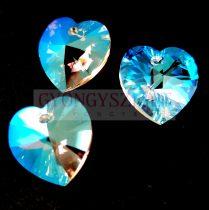 Swarovski beadable heart 18x17.5mm - Crystal Shimmer