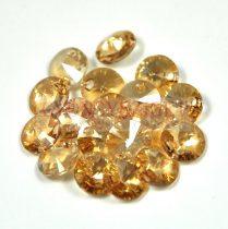 Swarovski medál - 6428 - crystal golden shadow - 8mm