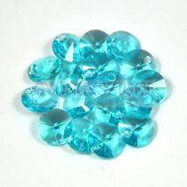 Swarovski medál - 6428 - light turquoise - 8mm