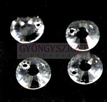 Swarovski - napocska medál crystal - 12mm