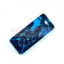 Swarovski Pendant - Growing Crystal Rectangle - Crystal Bermuda Blue - 36mm