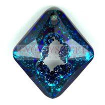 Swarovski Pendant - Growing Crystal Rhombus - Crystal Bermuda Blue - 36mm