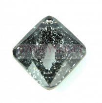 Swarovski Pendant - Growing Crystal Rhombus - Crystal Silver Night - 36mm