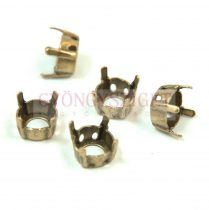 Chaton Finding - Finding brass  -8mm
