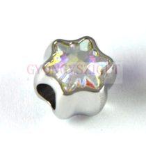 Swarovski - 81961 - BeCharmed Edelweiss gyöngy - 13.5mm - Crystal AB