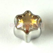 Swarovski - 81961 - BeCharmed Edelweiss Bead- 13.5mm - Crystal Golden Shadow