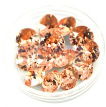 Swarovski chaton - 8mm -  Light Peach -