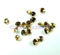 Swarovski - 1028 - golden shine - mini chaton - pp21