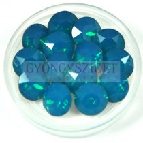 Swarovski chaton - 8mm -  Carribian Blue Opal  - 1088
