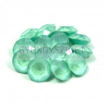 Swarovski chaton - 6mm -  Crystal Mint Green -  1088