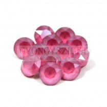 Swarovski chaton - 6mm -  Crystal Peony Pink -  1088