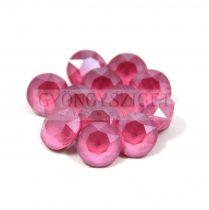 Swarovski chaton - 8mm -  Peony Pink
