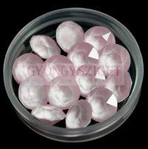Swarovski chaton - 8mm -  Crystal Powder Rose -