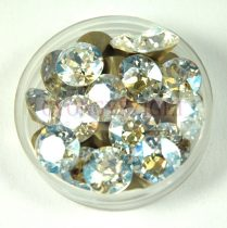 Swarovski chaton - 8mm -  Crystal MoonLight  - xirius