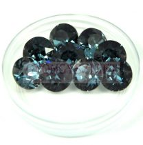 Swarovski chaton - 8mm -  Denim Blue  - xirius