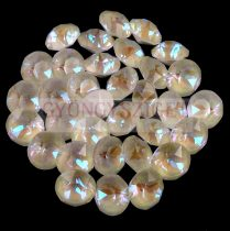 Swarovski chaton - 8mm -  Crystal Light Grey DeLite