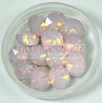 Swarovski chaton - rose water opal 8mm