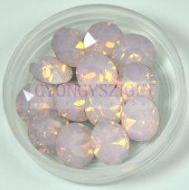 Swarovski chaton - 6mm -  Rose Water Opal -  1088