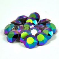 Swarovski chaton - 8mm -  Crystal Scarabaeus Green -