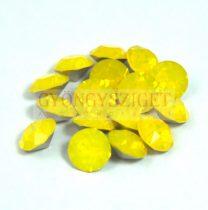Swarovski chaton - yellow opal 8mm