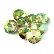 Swarovski rivoli ss47  - crystal luminous green