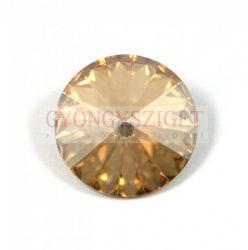 Swarovski rivoli 12mm - crystal golden shadow