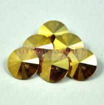 Swarovski rivoli 12mm - crystal metallic sunshine