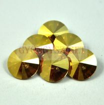 Swarovski rivoli 12mm - crystal metallic sunshine