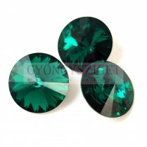Swarovski rivoli 12mm - emerald