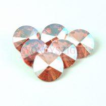Swarovski rivoli 12mm - Rose Peach Shimmer