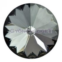Swarovski rivoli 12mm - crystal silver night