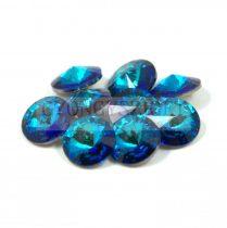 Swarovski rivoli 14mm - crystal bermuda blue