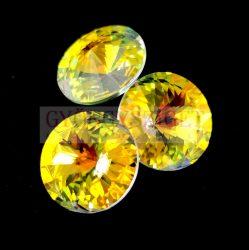 Swarovski rivoli 14mm - Crystal AB (fóliázatlan)